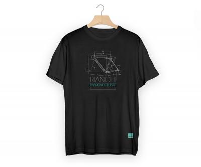 비앙키 테크 티셔츠